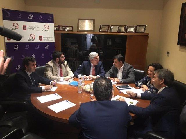 Reunión de la Mesa del Diálogo Social. 8-11-2018