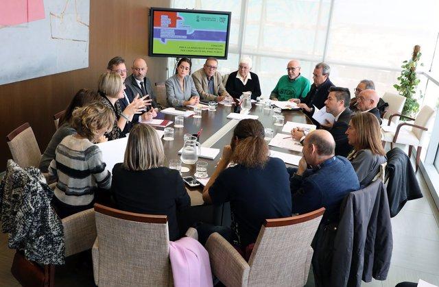 Reunión plan de adquisición de vivienda