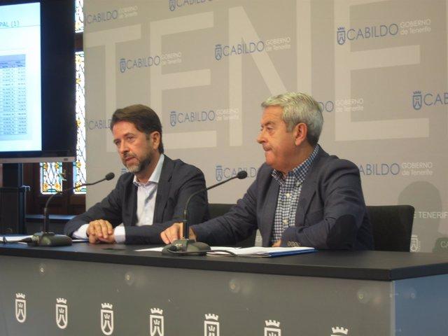 Alonso y Abreu en rueda de prensa