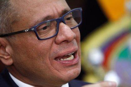 El exvicepresidente de Ecuador Jorge Glas regresa a prisión tras ser hospitalizado por una huelga de hambre