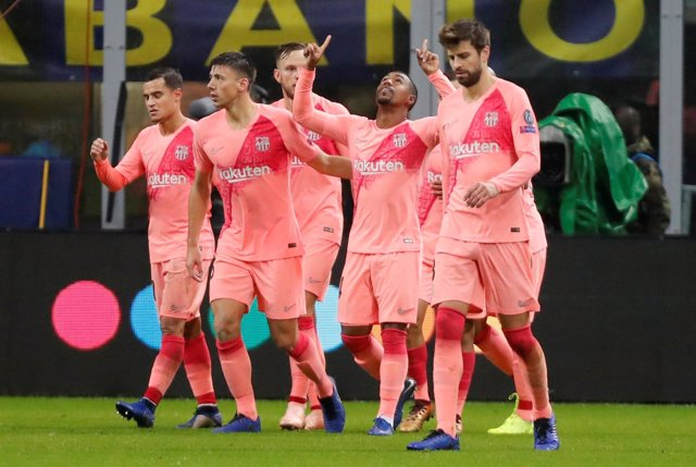 El Barcelona saca un punto ante el Inter con gol de Malcom