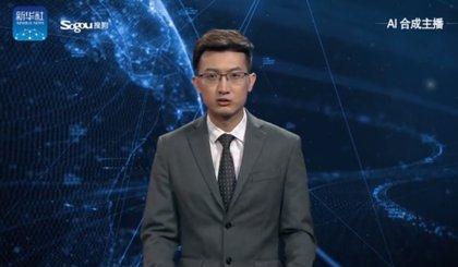 China presenta a su primer presentador de noticias virtual