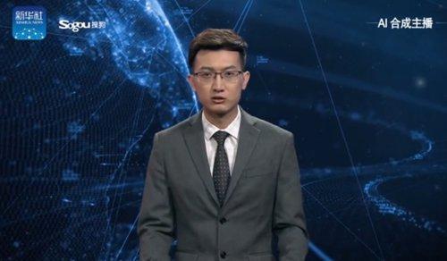 Presentador IA China