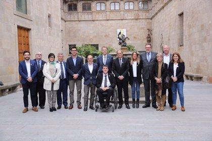 Torra es reuneix amb els diputats i senadors del PdeCAT i ratifica el seu 'no'