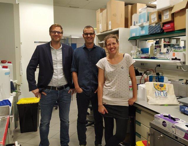Investigadores del IRB Barcelona y el CNAG-CRG S.Aznar, H.Heyn y M.Salzer