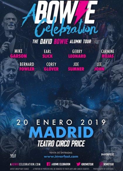 La banda original de David Bowie visita España en un único concierto en Madrid el 20 de enero