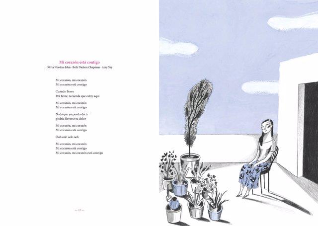 Olivia Newton-John publica un llibre-cd sobre el càncer il·lustrat per Blanch
