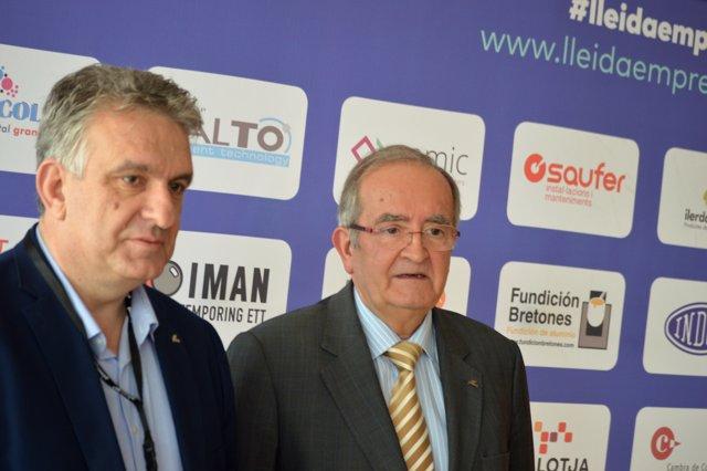 Jaume Saltó i Josep González (Pimec)