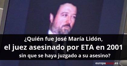 ¿Quién fue José María Lidón, asesinado por ETA en 2001 sin que se haya juzgado a su asesino?