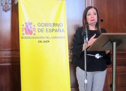 La subdelegada de Jaén valora la recuperación de la conexión ferroviaria de Linares-Baeza con el talgo Madrid-Granada