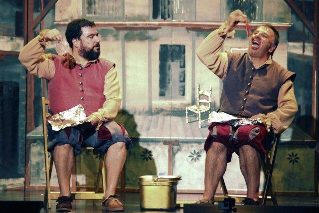Espectáculo 'Lope que te parió' de la compañía Malaje Sólo