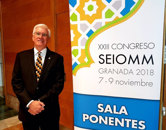 Smith Johnston, médico de la NASA, en el XXIII Congreso de SEIOMM