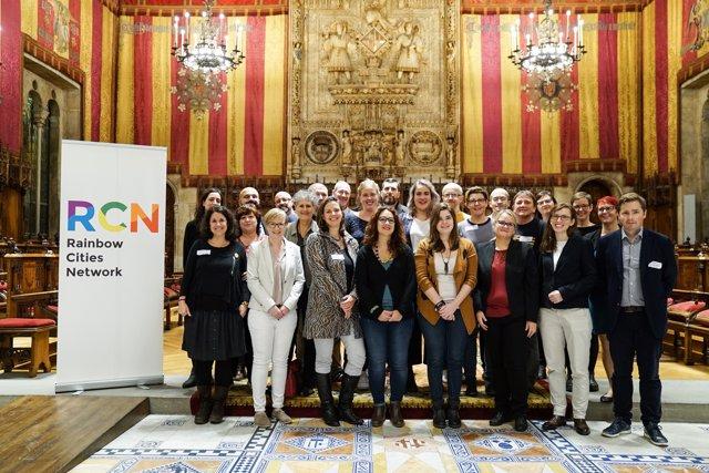 Barcelona acull la l trobada anual Red Rainbow Cities