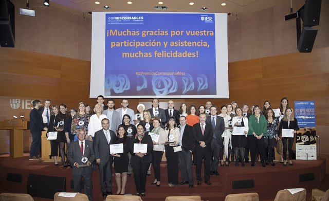Los IX Premios Corresponsables reconocen a las iniciativas más innovadoras y sos