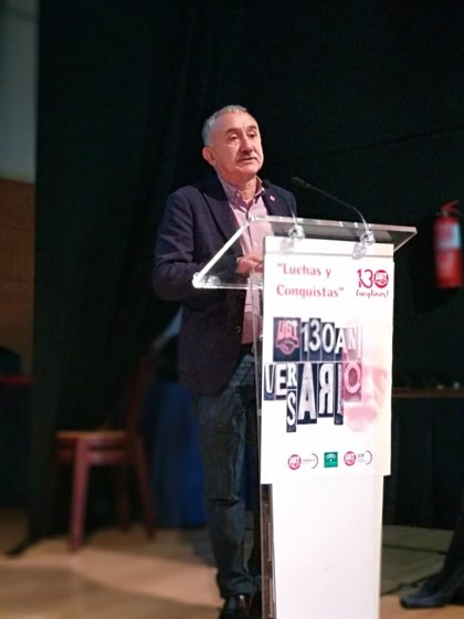 """UGT dice que España es al que """"menos ha regañado"""" Europa y tiene """"recorrido"""" para poder hacer los presupuestos"""
