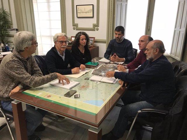 Reunión con Jesús María Sánchez