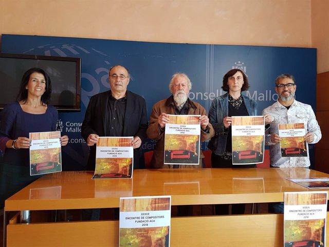 Presentación del XXXIX Encuentro Internacional de Compositores