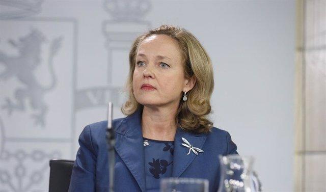 La directora general de Presupuestos de la Comisión Europea, Nadia Calviño