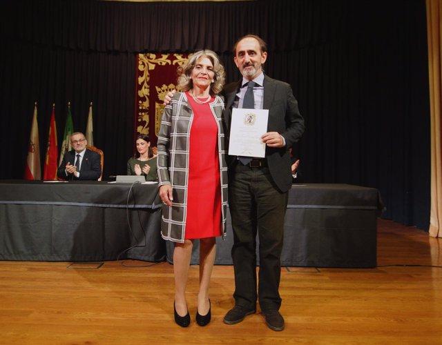 Daniel Innerarity y Ana Ferrer