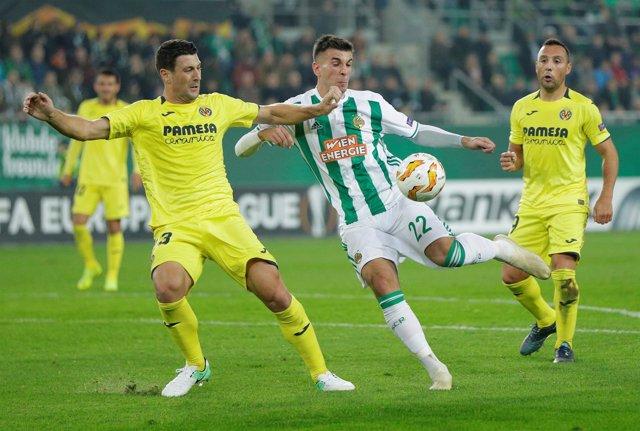 El Villarreal empata con el Rapid Viena en la Liga Europa