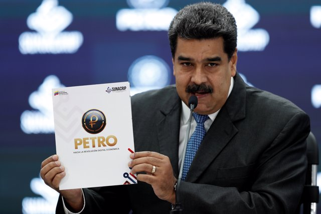 Venezuela's President Nicolas Maduro speaks during the kick-off event for the in