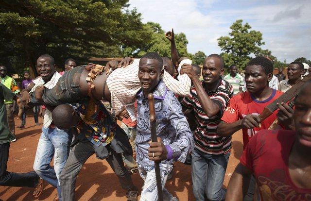 Enfrentamientos en Bambari