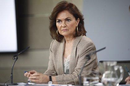 Carmen Calvo participa este viernes en diversos actos en Cáceres, Mérida y Badajoz