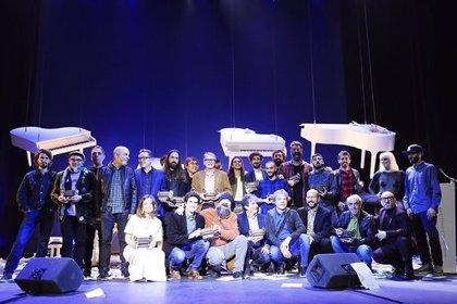Así fueron los primeros Premis Carles Santos de la Música Valenciana, la noche de Els Jóvens