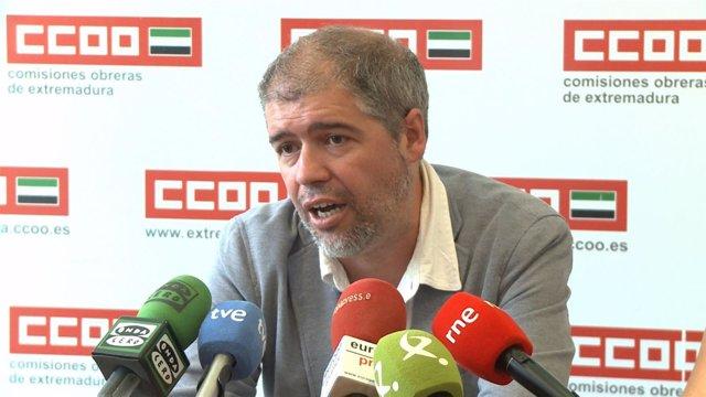Secretario confederal de CCOO, Unai Sordo (archivo)