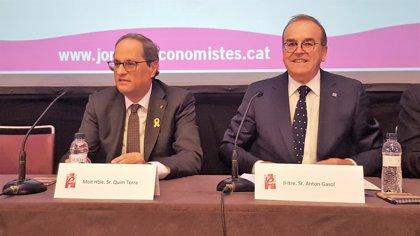 """Torra dice que Catalunya sigue siendo """"atractiva"""" para invertir pese a la actitud del Estado"""