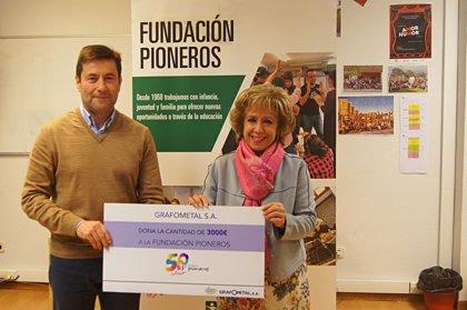Grafometal renueva su acuerdo de colaboración con Fundación Pioneros