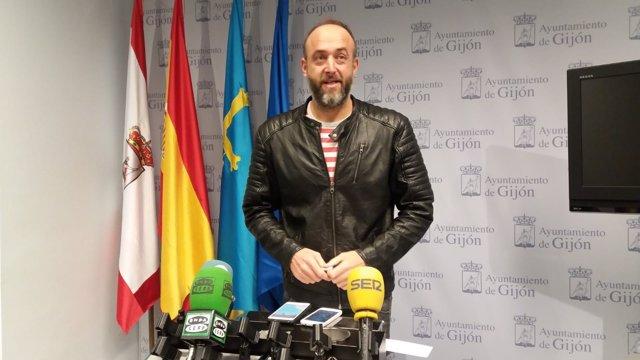 DAVID ALONSO, CONCEJAL XSP DE GIJÓN
