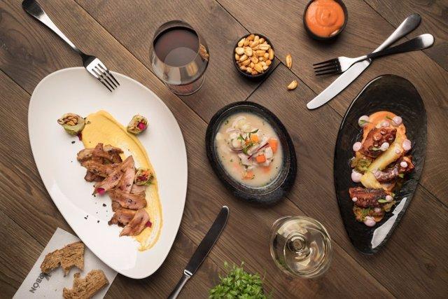 Oferta gastronómica en Madrid Hotel Week