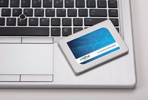unidad SSD de Crucial