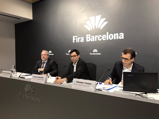Constantí Serrallonga, Gerardo Pisarello y Salvador Tasqué