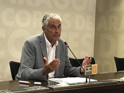 """El PP emplaza al Gobierno de Aragón a """"enmendar"""" la política fiscal en los Presupuestos de 2019"""