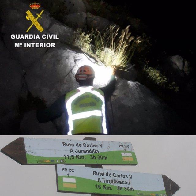 [Cáceres] Notas De Prensa Exposicion Mujer Y Guardia Civil Y Rescate De Senderis