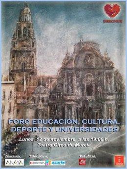 El foro de Educación reúne en Murcia a Espido Freire, Jesús C. Guillén