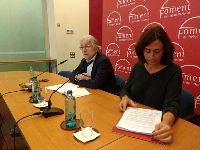 Josep Sánchez Llibre en rueda de prensa