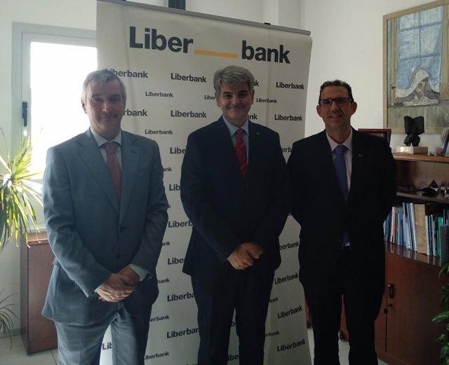 Liberbank y el SES firman un convenio