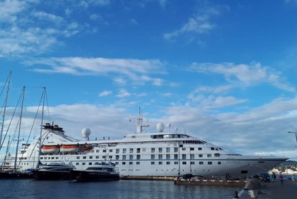 """Els ports de Palamós i Roses tanquen una """"excel·lent"""" temporada de creuers amb 54 escales i més de 51.000 passatgers"""