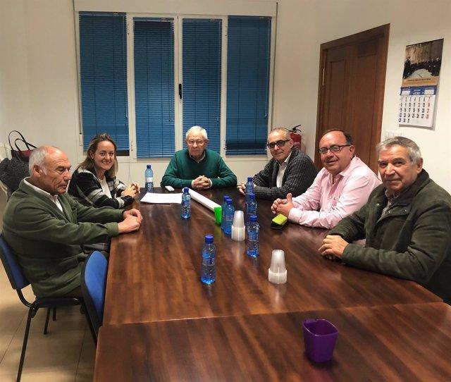 Reunión de CHG y arroceros.