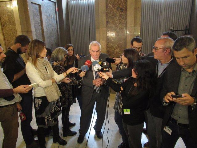 El conseller d'Acció Exterior de la Generalitat, Ernest Maragall