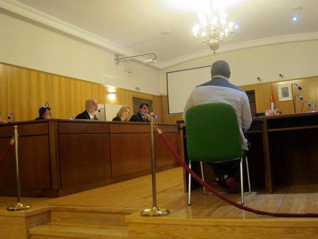 Sala de la Audiencia donde se desarrolla el juicio.