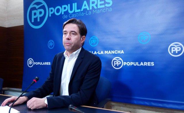 El portavoz adjunto del Grupo Parlamentario Popular, Lorenzo Robisco