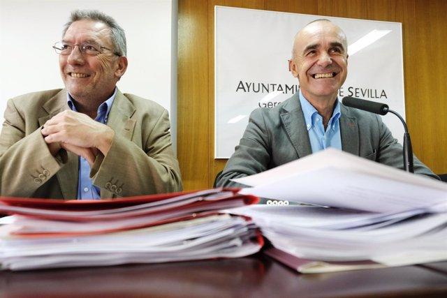 Ignacio Pozuelo y Antonio Muñoz