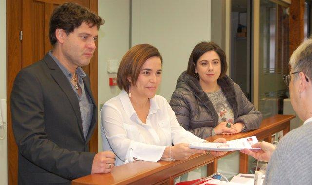 Arraiz presenta avales para PSOE