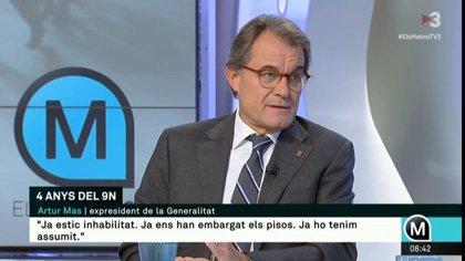 """Artur Mas demana aprofitar el judici dels sobiranistes per """"desgastar"""" l'Estat"""