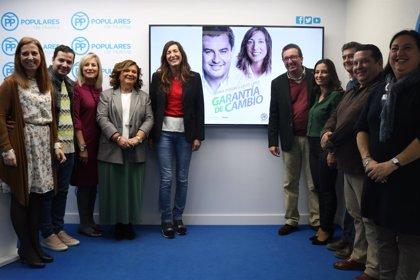 """López destaca """"la fuerza y la capacidad de gestión"""" del PP que """"hará despegar a Huelva"""" a partir del 2D"""