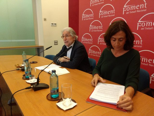 Josep Sánchez Llibre en roda de premsa